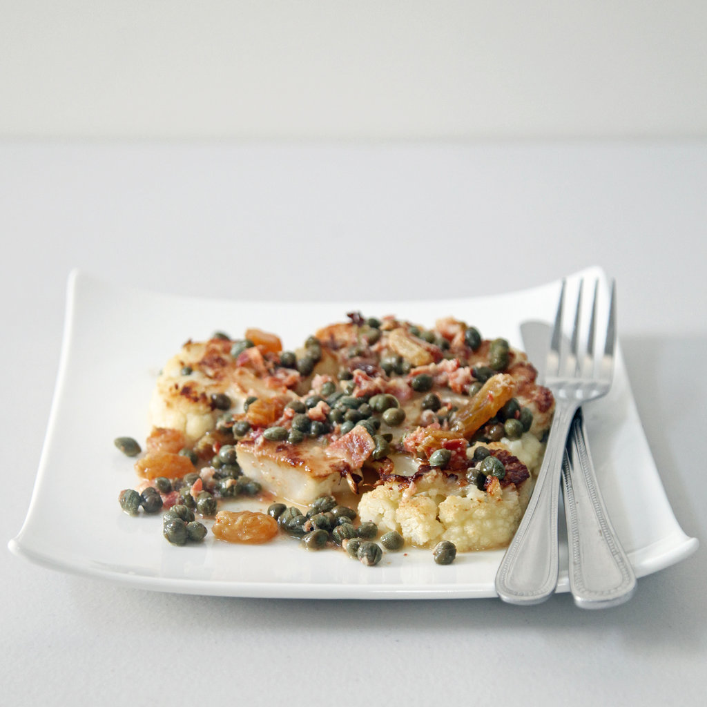 Intermediate: Cauliflower Steak With Pancetta