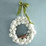 Playful but chic, this Felt Ball Wreath ($23-$35, originally $39-$59) reminds us of tiny snowballs.