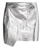 H&M Metallic Skirt