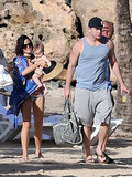 In December, Channing Tatum brought Jenna Dewan and their daughter, Everly, down to Puerto Rico while he filmed 22 Jump Street.