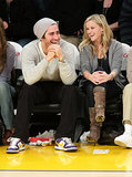Jake was all smiles on the sidelines with then-girlfriend Reese Witherspoon — the couple took in an LA Lakers game in January 2009.
