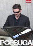 Hugh Jackman arrived in Sydney, Australia.