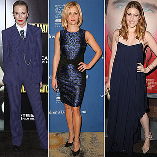 Celebrities Wearing Midnight Blue
