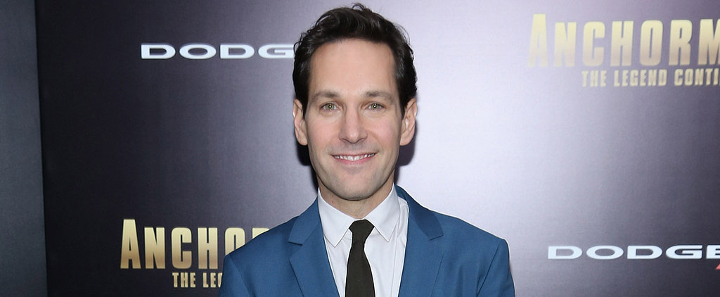 Paul Rudd Is Marvel's Newest Movie Hero