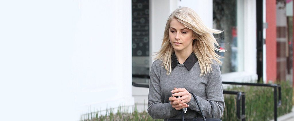 Julianne Hough Does Menswear For the Girl's Girl
