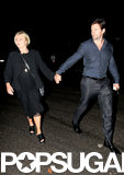 Hugh Jackman and his wife, Deborra-Lee Furness, left dinner together.