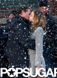 Greg Kinnear and Sarah Jessica Parker filmed a scene in snowy NYC for I Don't Know How She Does It in February 2011.