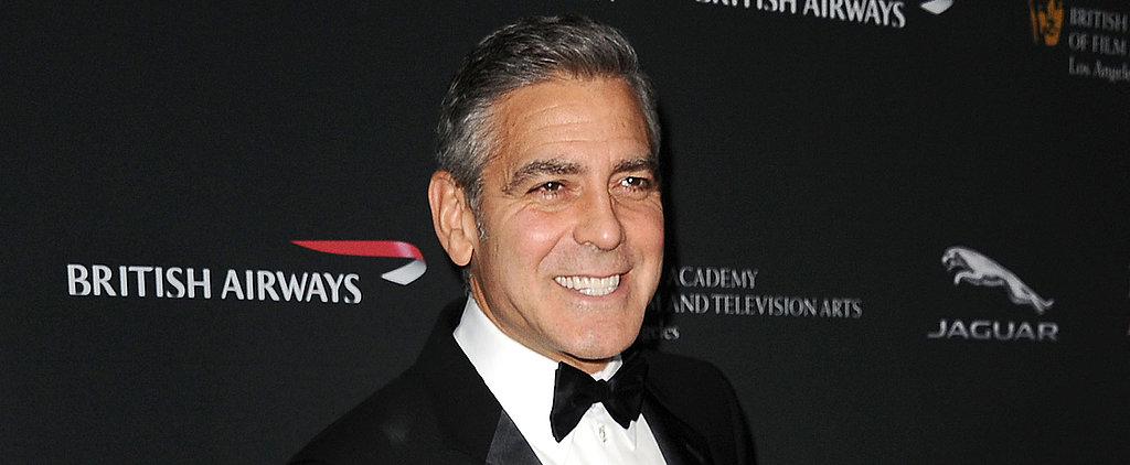 It's Saint George! See Clooney Dressed as Santa