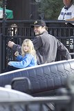 Vince Vaughn checked out the rides with his family in Dec. 2013.