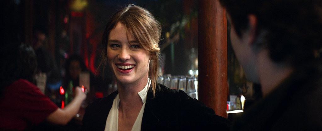 Mackenzie Davis plays Teller's love interest.