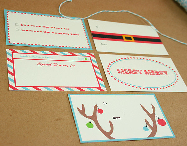 Colorful Gift Tags