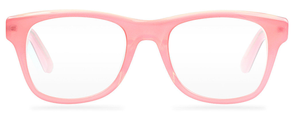 For eyeglass wearers who would like something a bit bolder than the classic styles offered up by Warby Parker, Lookmatic has a good alternative. It has the same easy-to-understand flat-price model, but with crazier shapes like this blush-pink pair ($95), it's got options for the girl who likes to stand out. — LM
