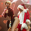 Miley Cyrus Twerking With Santa
