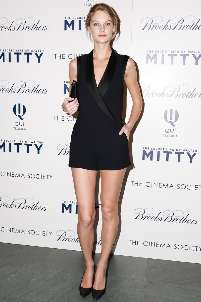 Maryna Linchuk at the Brooks Brothers screening of The Secret Life of Walter Mitty.