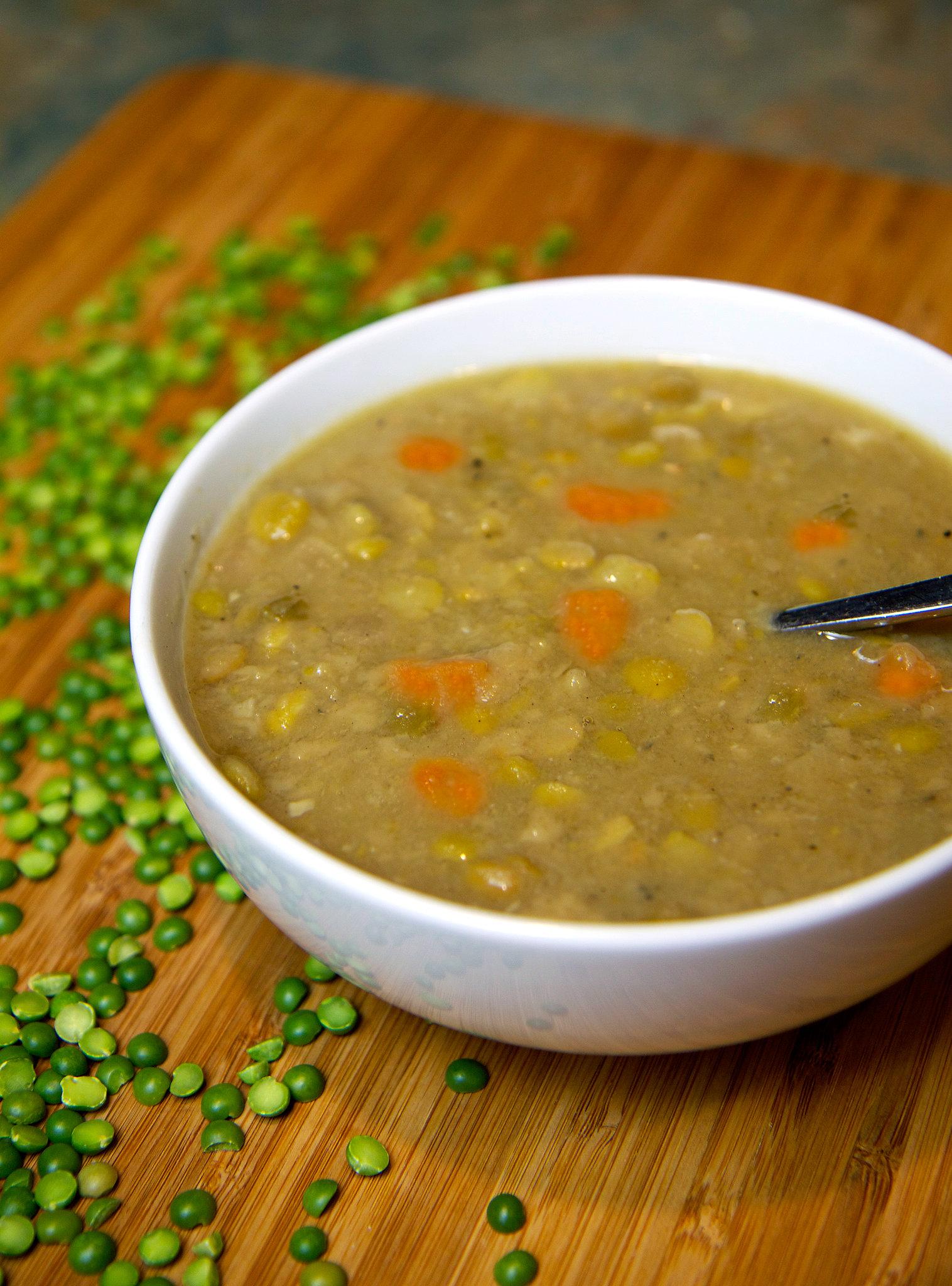Vegan Split Pea Soup | POPSUGAR Fitness