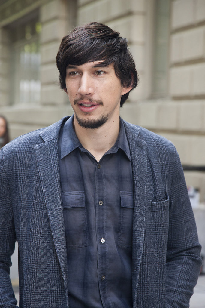 Adam Driver is back as Adam.