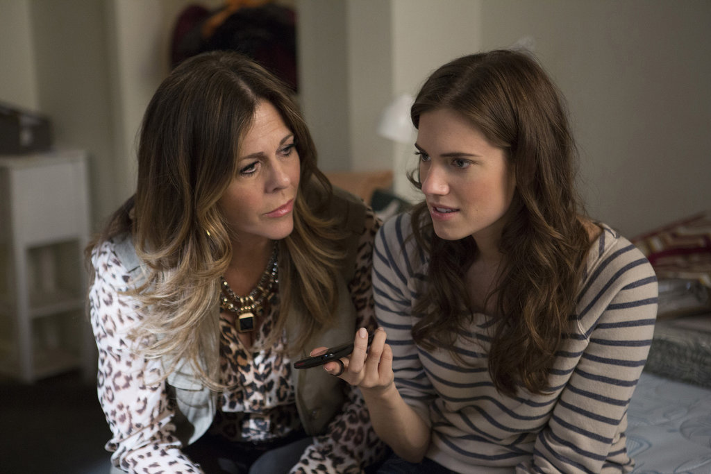 Rita Wilson guest stars as Marnie's mom.