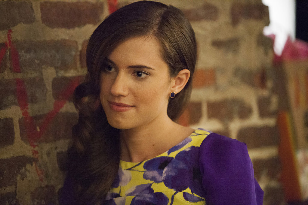 Marnie (Allison Williams) breaks out the bold prints.