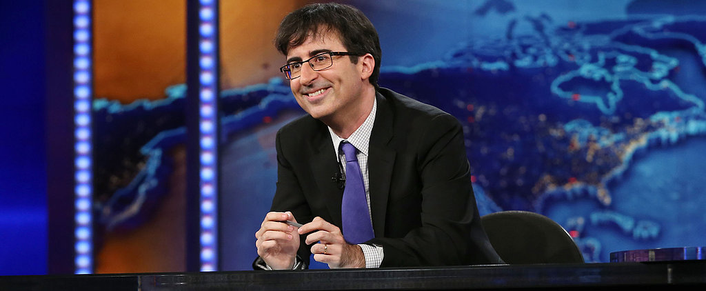 Cry Along With John Oliver During His Daily Show Farewell