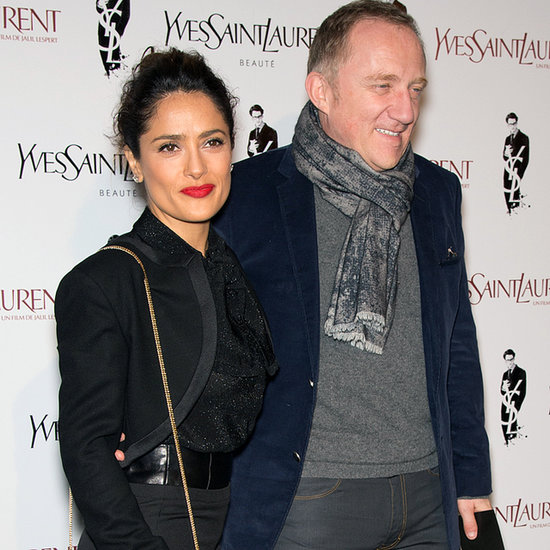 Salma Hayek Yves Saint Laurent Premiere, Watch The Trailer