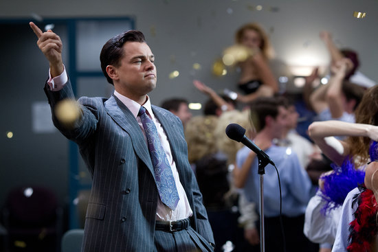 Leo Is Out of Control in The Wolf of Wall Street Pictures