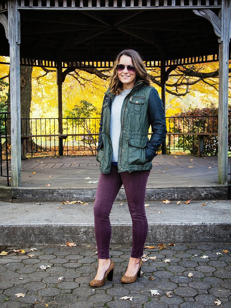 Congrats, WhiskeyGinger! Leopard-print pumps with a military jacket? We couldn't have thought of a more exciting (and unexpected!) combination.