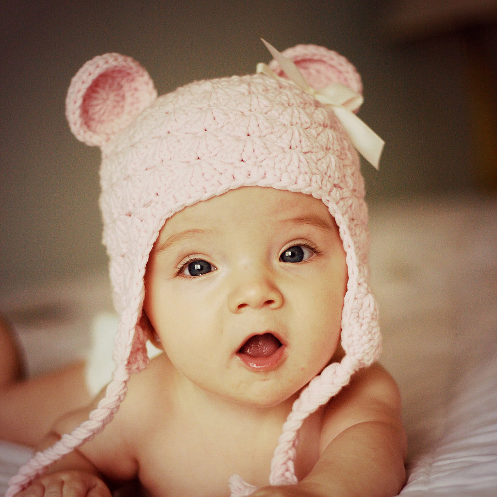 We can't get enough of this adorable bear beanie ($30). A great gift!