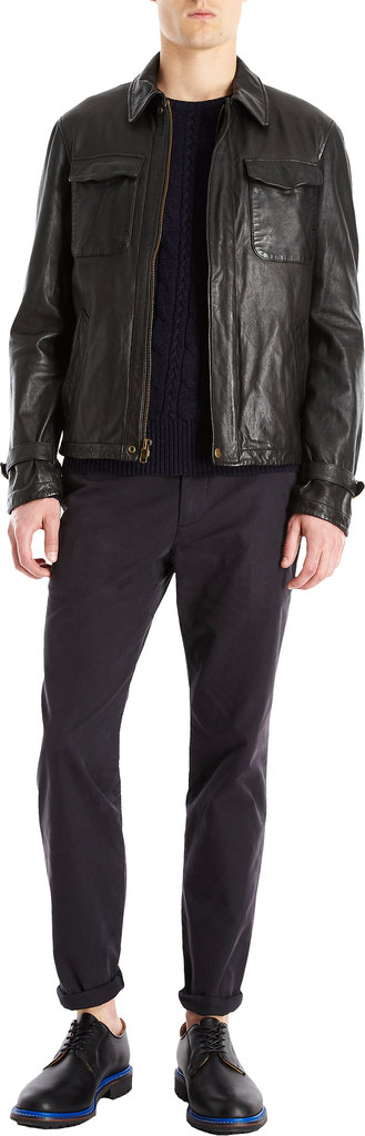 Barneys New York Todd Snyder Leather Club Jacket ($1,295)
