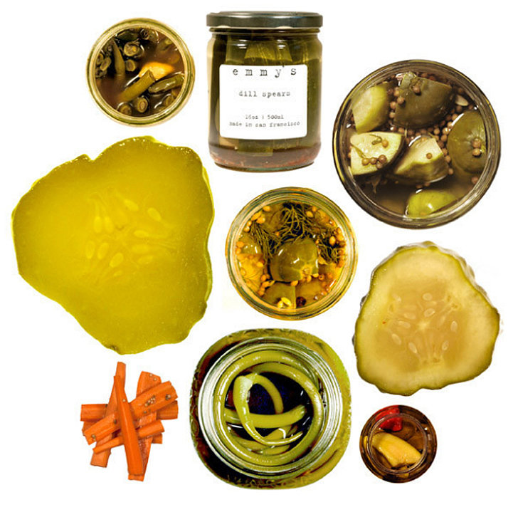An Assortment of Pickles