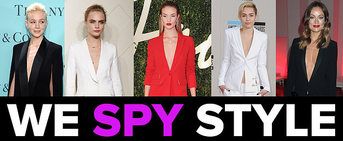 We Spy Sexy Suits: No Shirt? No Problem!