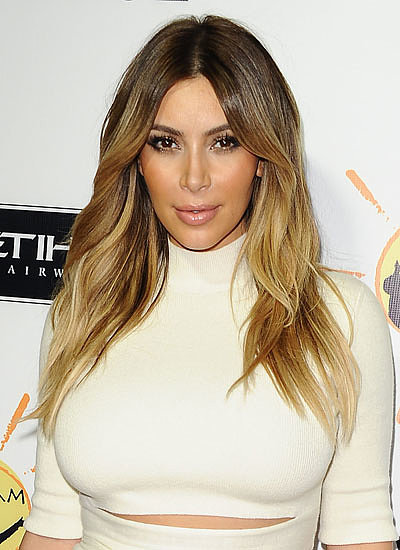 12. Kim Kardashian: Brunette to Blond