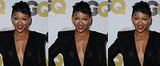 Meagan Good's Surprising '80s Hair Inspiration