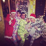 Jessica Alba proved her Christmas onesie game was on point. Source: Instagram user jessicaalba