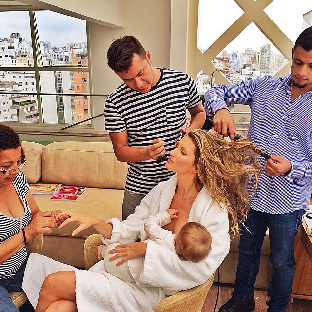 Best Instagram Mom: Gisele Bündchen