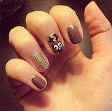 On our Instagram this reindeer nail art was one of our most-clicked pictures of all time.