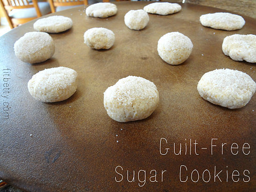 "Guilt-Free ""Sugar"" Cookies"