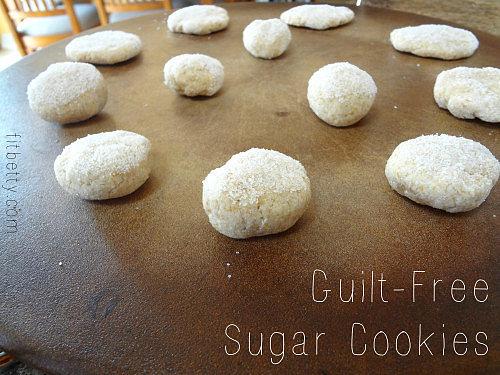 "Guilt-Free ""Sugar"" Cookies"