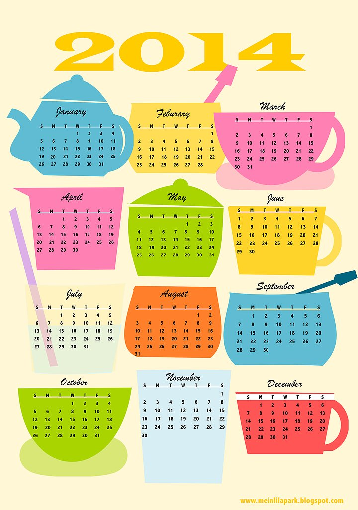 Coffee Break 2014 Calendar
