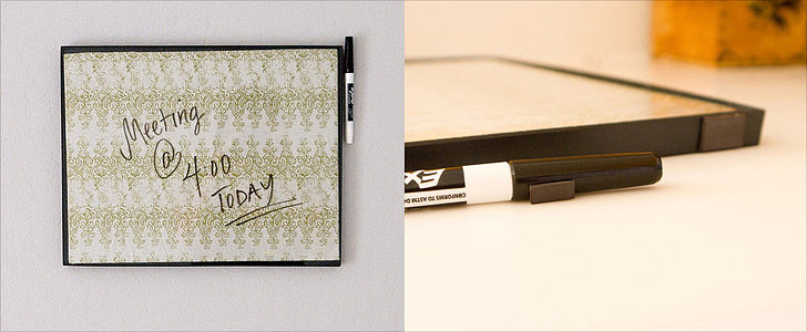 Transform a Picture Frame Into a DIY Erase Board