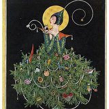 Vogue went to the archives for a Christmas card to its followers. Source: Instagram user voguemagazine