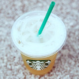 Starbucks Iced Peach Green Tea Lemonade