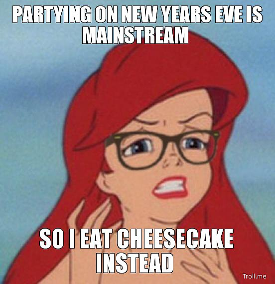 Because Hipsters Love Cheesecake