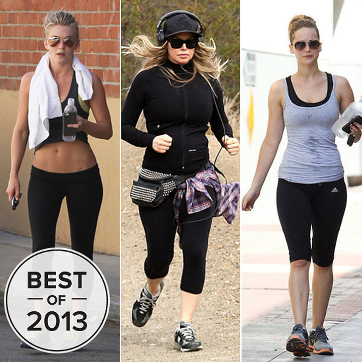 celebrity workouts 2013 popsugar fitness