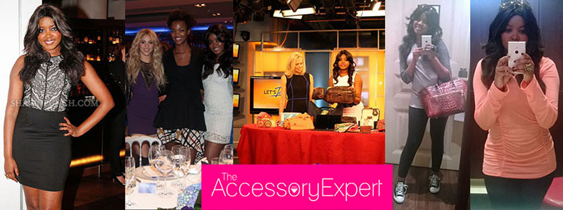 Single Dress Sheri Bodell Let's Talk Live TV Segment Accessory Expert Barcelona Kimmie Smith