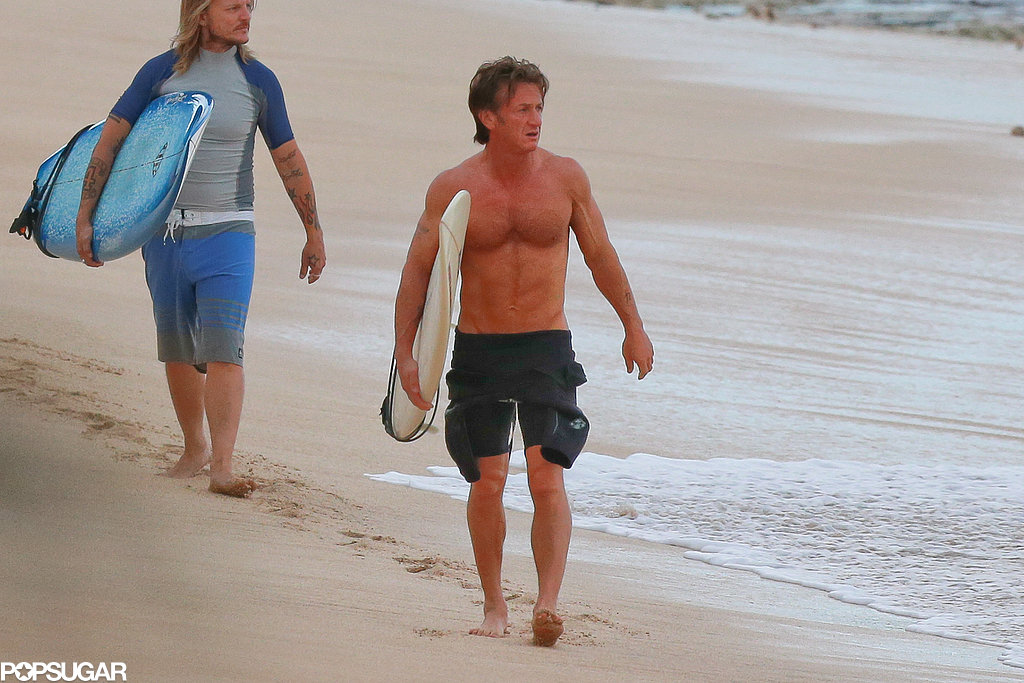Ring In the New Year With Sean Penn's Shirtless Abs