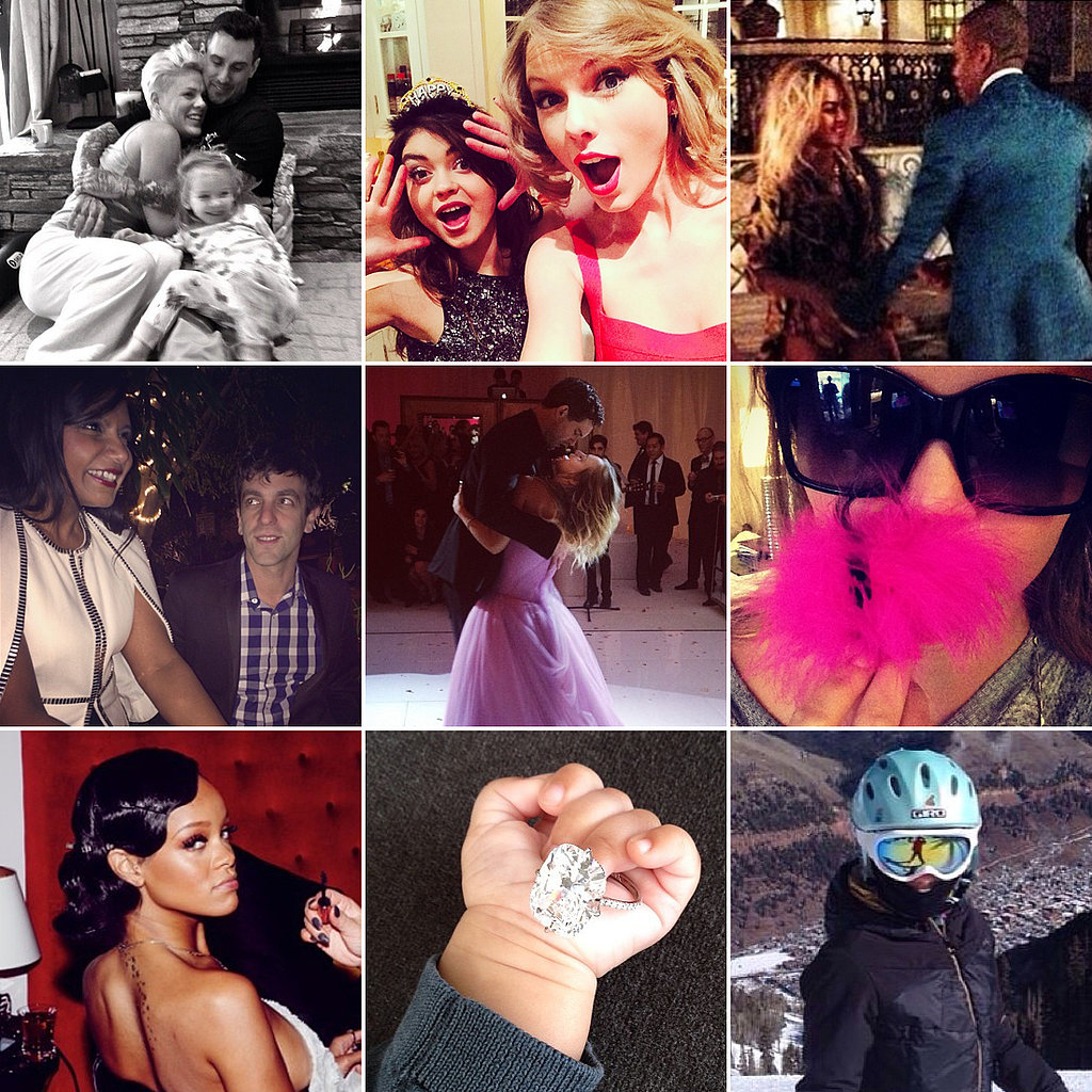 Hello, 2014! Celebrities Ring In the New Year