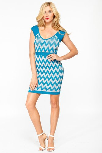 Zig Zag Bandage Dress @ Cicihot sexy dresses,sexy dress,prom dress,summer dress,spring dress,prom gowns,teens dresses,sexy party