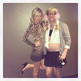 Nicky Hilton and a friend were very appropriately dressed for one of Britney Spears's shows in Las Vegas. Source: Instagram user nickyhilton
