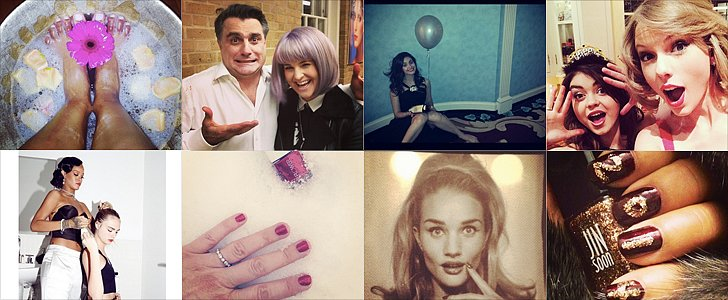 Celebrity Beauty Instagrams | Jan. 3, 2014