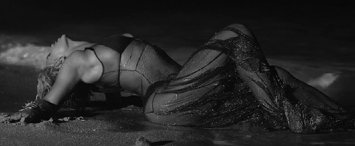 "PS: What's your favorite Beyoncé song to dance to? LA: Hard to say! I love ""Crazy in Love"" and of course who didn't love ""Single Ladies""? ""Drunk in Love"" from the new album is amazing. She is truly incredible. A still from Beyoncé's video for ""Drunk in Love"""